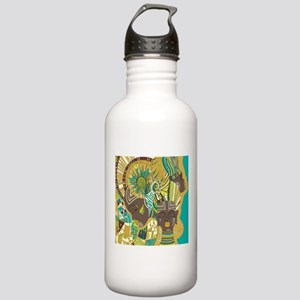 African Woman Stainless Water Bottle 1.0L