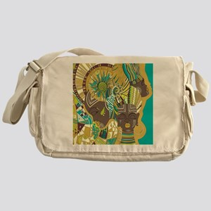 African Woman Messenger Bag