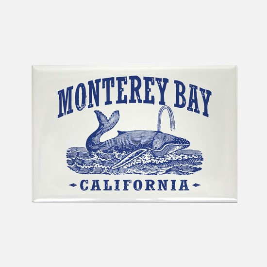 Monterey Bay Rectangle Magnet