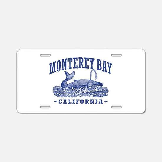 Monterey Bay Aluminum License Plate