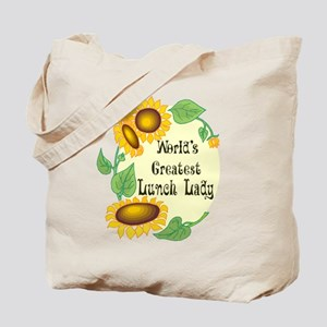 World's Greatest Lunch Lady Tote Bag
