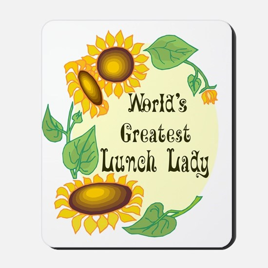 World's Greatest Lunch Lady Mousepad