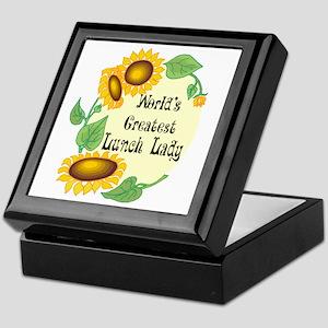 World's Greatest Lunch Lady Keepsake Box