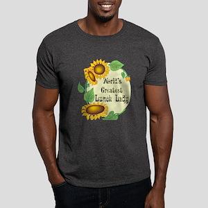 World's Greatest Lunch Lady Dark T-Shirt