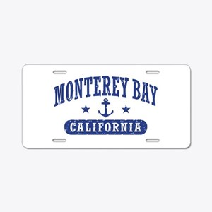 Monterey Bay Aluminum License Plate