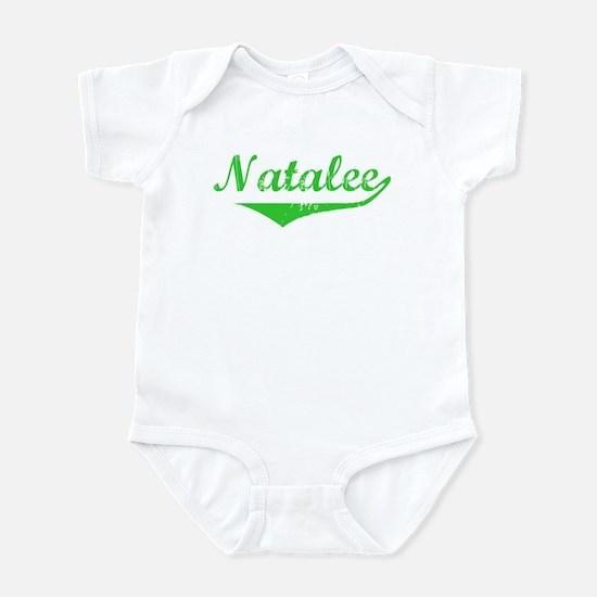 Natalee Vintage (Green) Infant Bodysuit