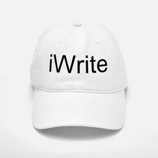 iWrite Baseball Baseball Cap