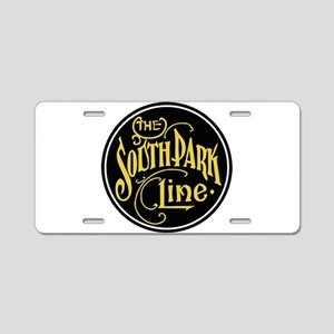 Denver South Park Line Rail Aluminum License Plate