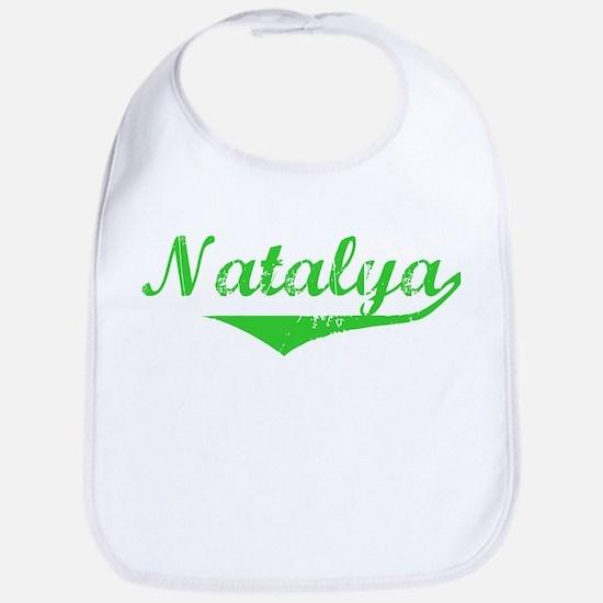 Natalya Vintage (Green) Bib