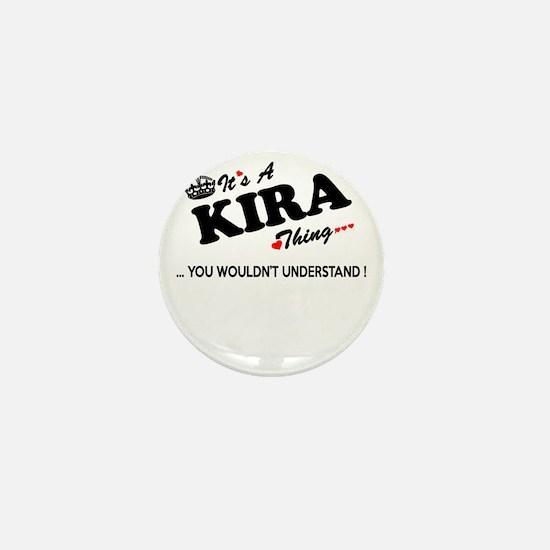 Cute Kira Mini Button