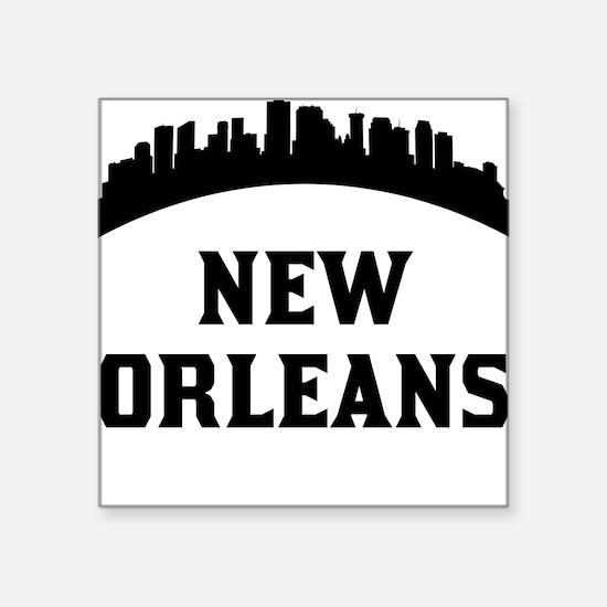 New Orleans LA Skyline Sticker