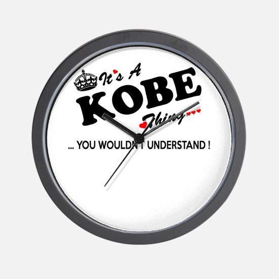 Unique Kobe Wall Clock