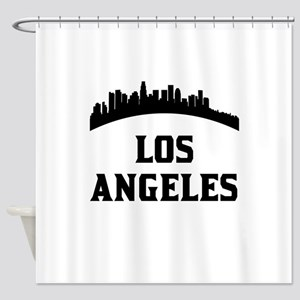 Los Angeles CA Skyline Shower Curtain