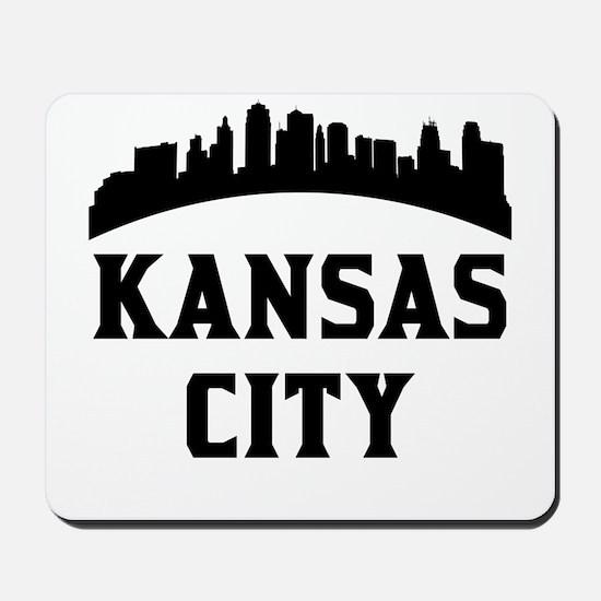 Kansas City MO Skyline Mousepad