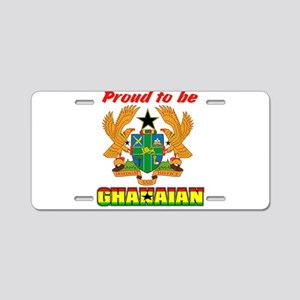 Ghanaian coat of arms Aluminum License Plate
