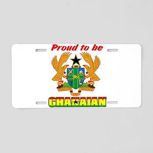 Ghanaian coat of arms Aluminum License Plate