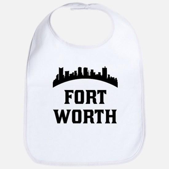 Fort Worth TX Skyline Bib