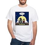 Werewolf Dating Problem White T-Shirt
