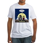 Werewolf Dating Problem Fitted T-Shirt