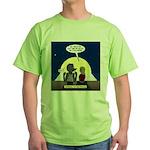 Werewolf Dating Problem Green T-Shirt