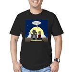 Werewolf Dating Proble Men's Fitted T-Shirt (dark)