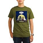 Werewolf Dating Probl Organic Men's T-Shirt (dark)