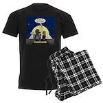Werewolf Dating Problem Men's Dark Pajamas