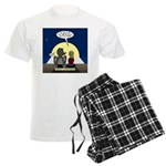 Werewolf Dating Problem Men's Light Pajamas