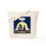 Werewolf Dating Problem Tote Bag