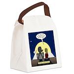 Werewolf Dating Problem Canvas Lunch Bag