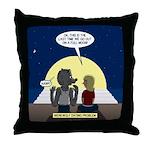 Werewolf Dating Problem Throw Pillow