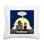 Werewolf Dating Problem Square Canvas Pillow