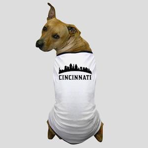 Cincinnati OH Skyline Dog T-Shirt