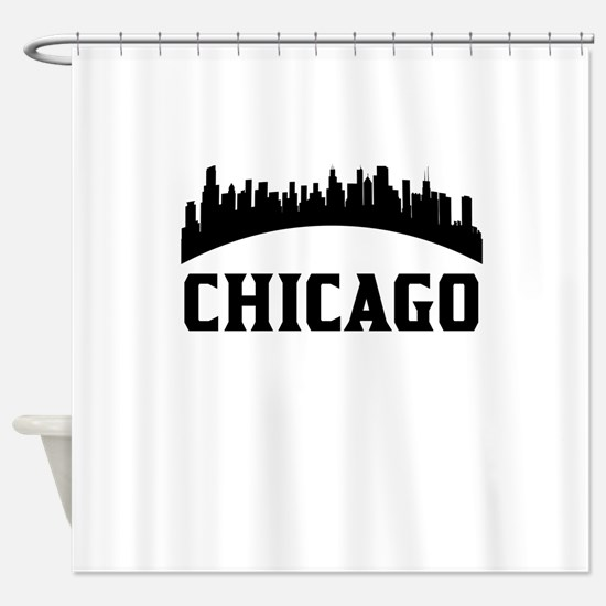 Chicago IL Skyline Shower Curtain
