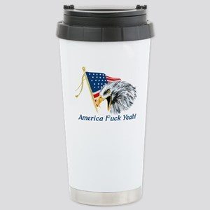 americafuckyeahblk Stainless Steel Travel Mug