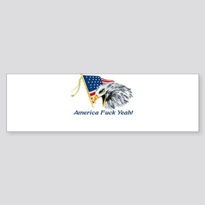 americafuckyeahblk Bumper Sticker