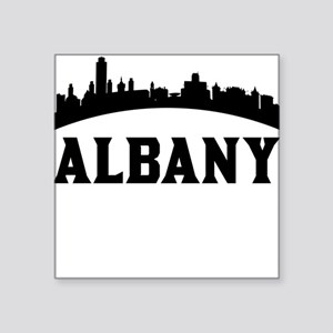 Albany NY Skyline Sticker