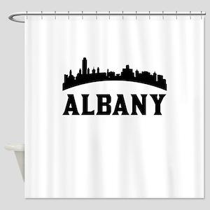 Albany NY Skyline Shower Curtain