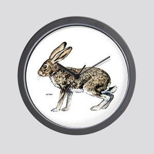 Jack Rabbit Wall Clock