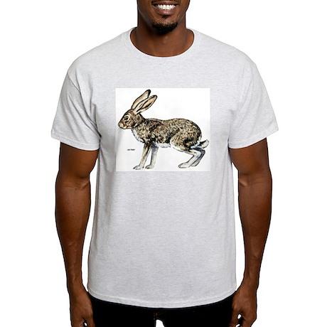 Jack Rabbit Ash Grey T-Shirt