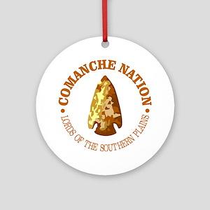 Comanche Nation Round Ornament