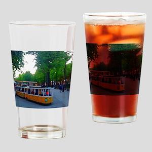 Little Train Ride Drinking Glass