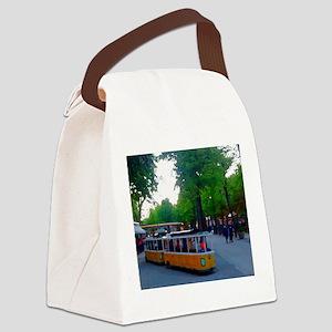 Little Train Ride Canvas Lunch Bag