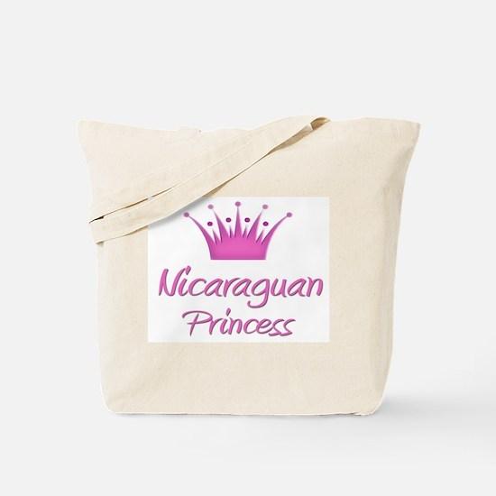 Nicaraguan Princess Tote Bag
