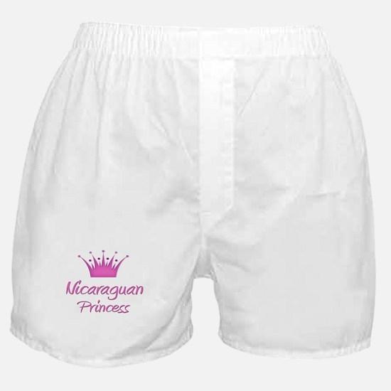 Nicaraguan Princess Boxer Shorts