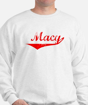 Macy Vintage (Red) Sweater