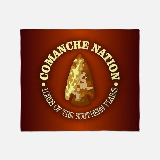 Comanche Nation Throw Blanket