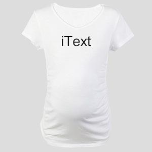 iText Maternity T-Shirt