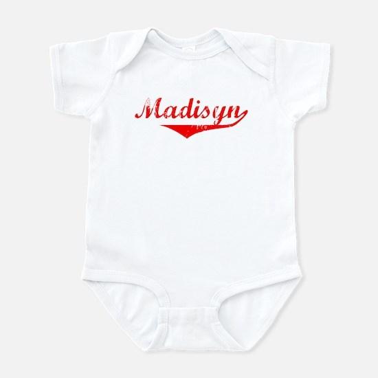 Madisyn Vintage (Red) Infant Bodysuit
