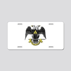 32nd Degree Mason Aluminum License Plate